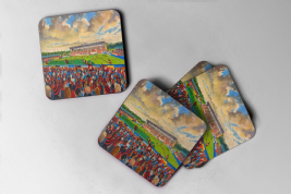 allianz park Coaster set of four